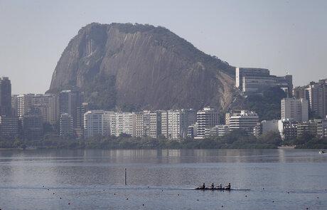 APTOPIX Brazil OLY Rio 2016 Filthy Water