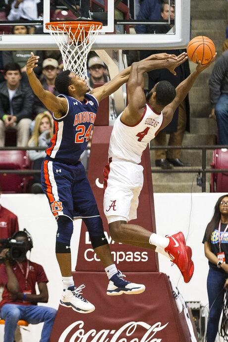 Auburn Alabama Basketball