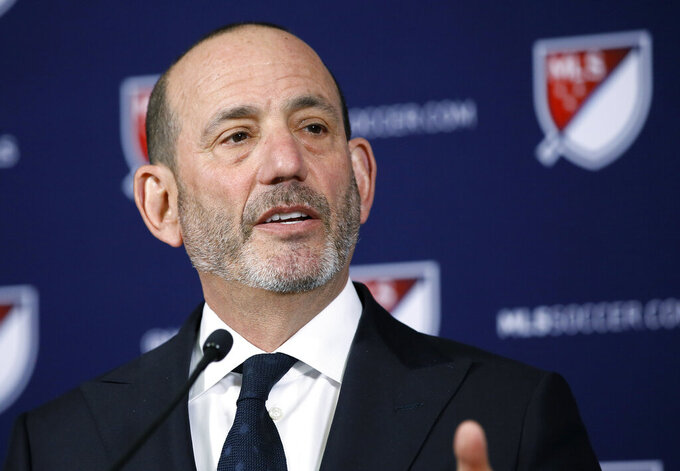 Garber's 20 years as MLS commissioner time of huge growth