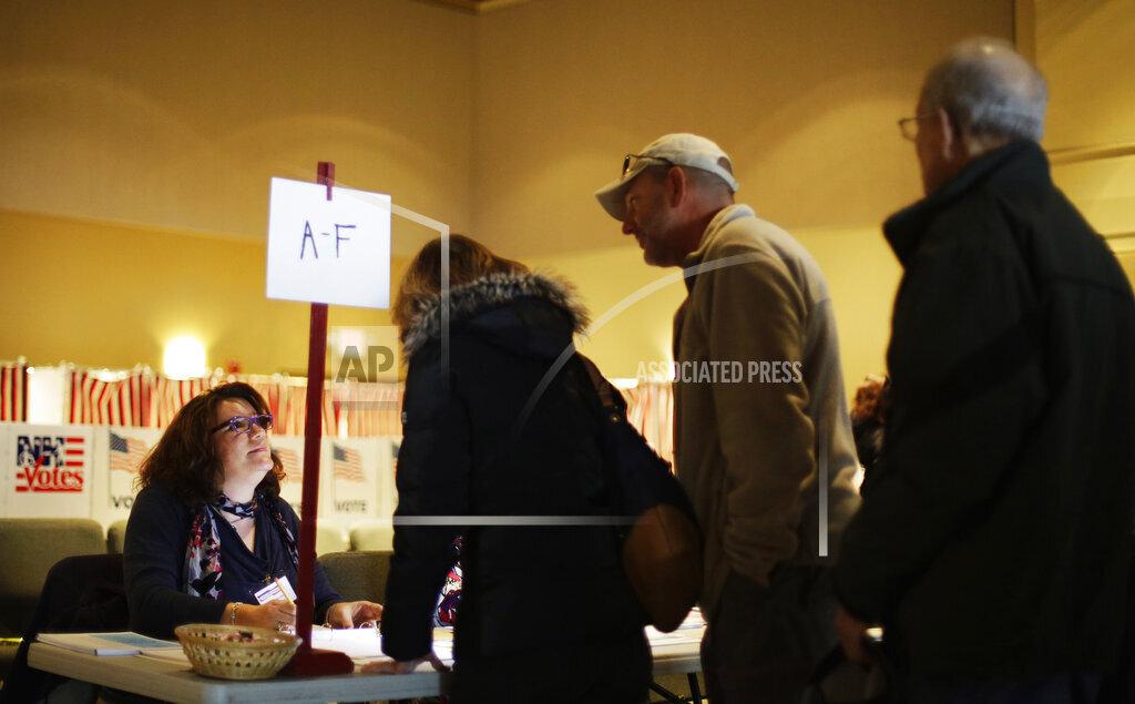 2016 Election New Hampshire Votes