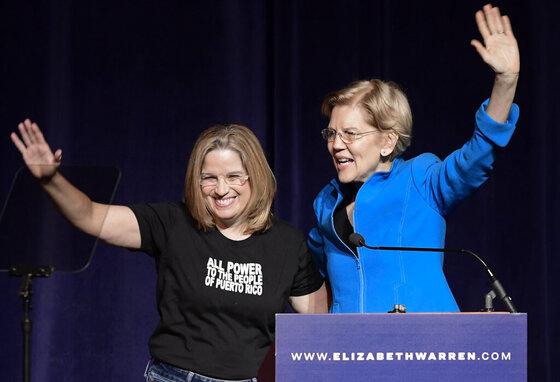 Puerto Rico Elizabeth Warren_