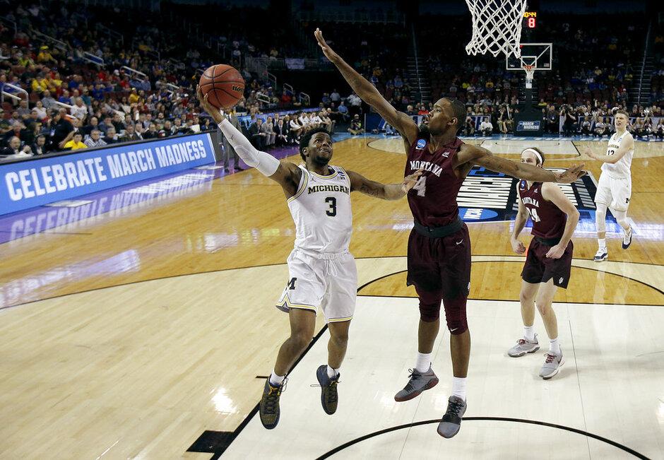 NCAA Montana Michigan Basketball