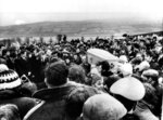 FILE - In this Feb. 2, 1972 file photo, pallbearers carry one of 13 coffins of Bloody Sunday victims to a graveside during a funeral in Londonderry, Northern Ireland, following requiem mass at nearby St. Mary's church at Creggan Hill. A former British soldier is set to be prosecuted in connection with the deaths of two civil rights protesters in Northern Ireland more than 40 years ago, part of an event known as Bloody Sunday. (AP Photo/File)