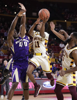 Washington Arizona St Basketball