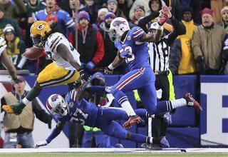 Bills Packers second half