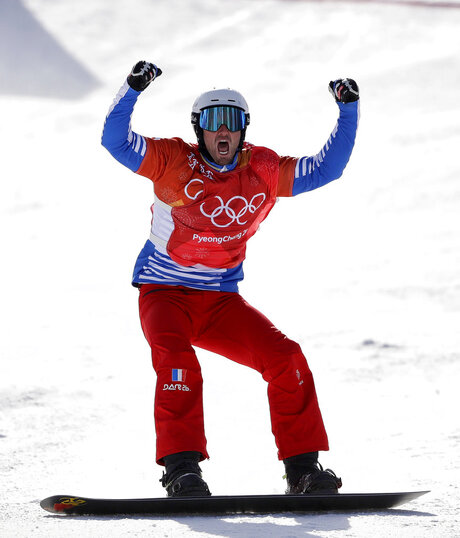 APTOPIX Pyeongchang Olympics Snowboard Men