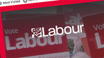 Screen-grab taken from Britain's Labour Party internet site showing the party logo Tuesday Nov. 12, 2019. Britain's Labour Party said Tuesday Nov. 12, 2019, it has experienced a