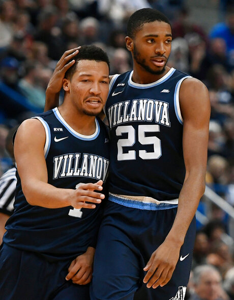 Jalen Brunson, Mikal Bridges
