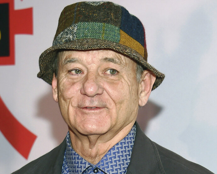 FILE - In this March 20, 2018, file photo, Bill Murray attends a special screening of