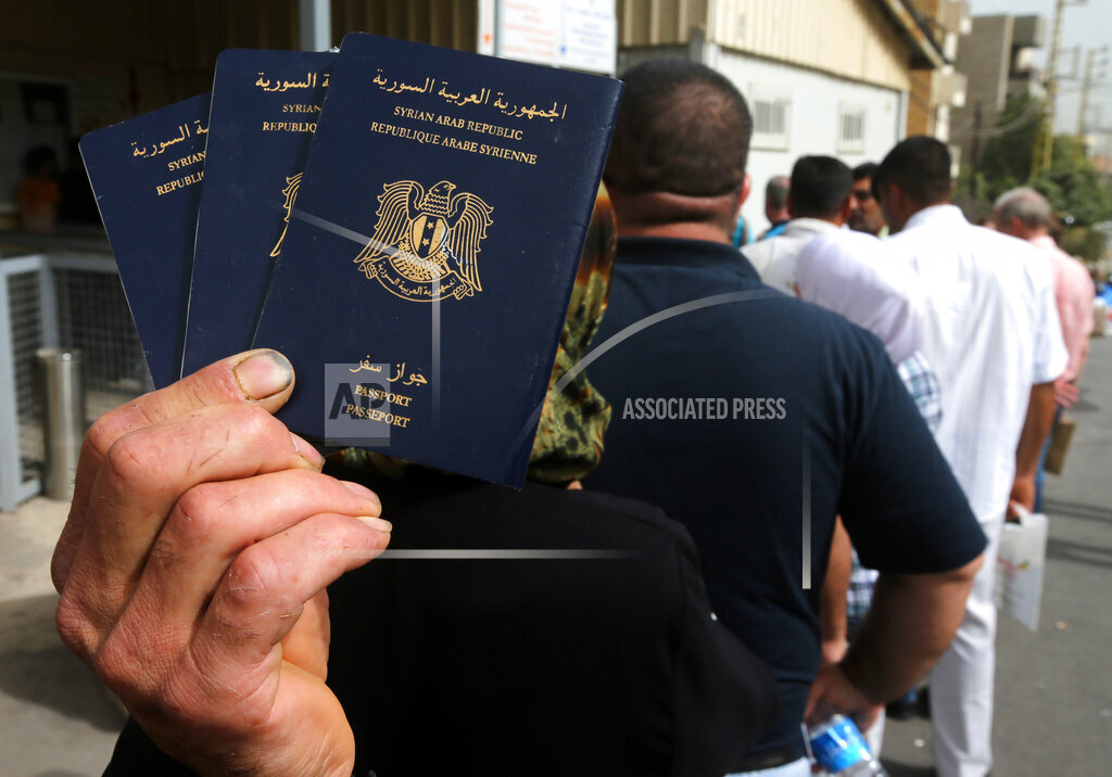 Mideast Syria Hoping to Migrate