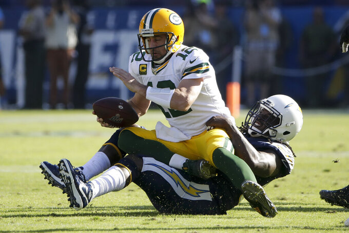 Rodgers rips Packers' road focus after blowout loss to Bolts