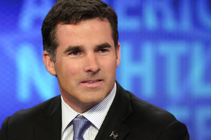 FILE - In this March 31, 2011, file photo, Kevin Plank, founder and CEO of Under Armour, appears on the