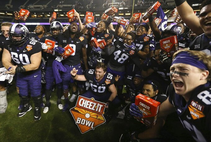 TCU beats Cal 10-7 in overtime of wild Cheez-It Bowl