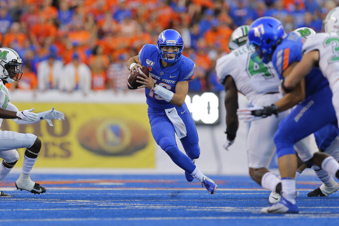 No. 22 Boise State hosts Portland State before MWC play