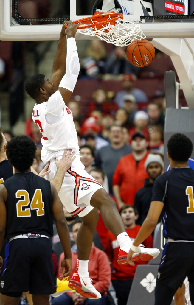 No. 10 Ohio St keeps rolling, routs Purdue Fort Wayne 85-46