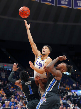 Memphis LSU Basketball