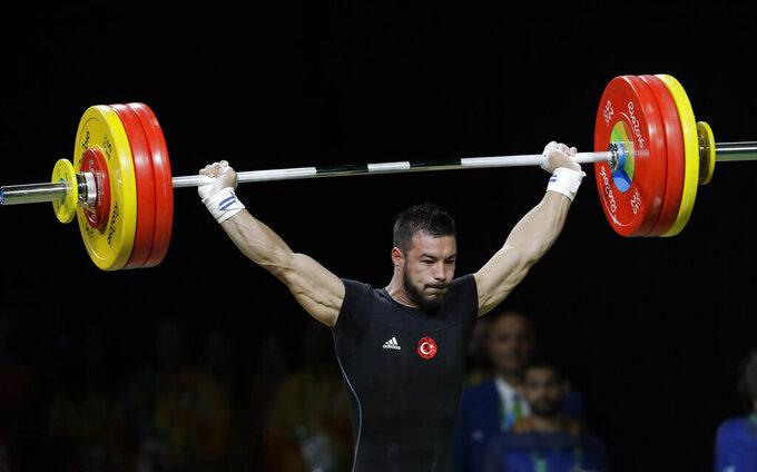 European weightlifting champ Ismayilov fails drug test