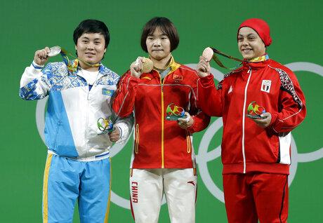 Zhazira Zhapparkul, Xiang Yanmei, Sara Ahmed