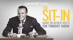 This image released by Peacock shows Harry Belafonte in promotional art for the documentary