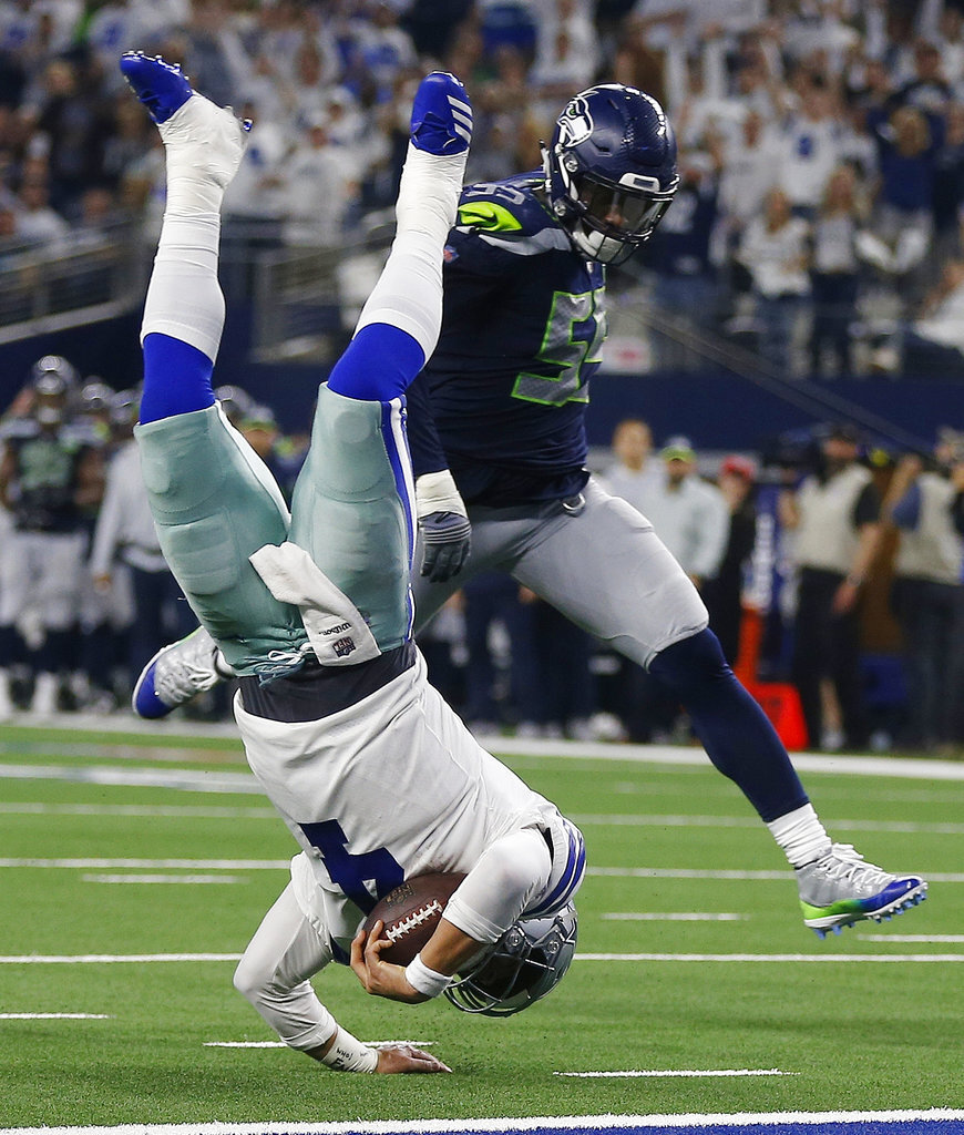 APTOPIX Seahawks Cowboys Football