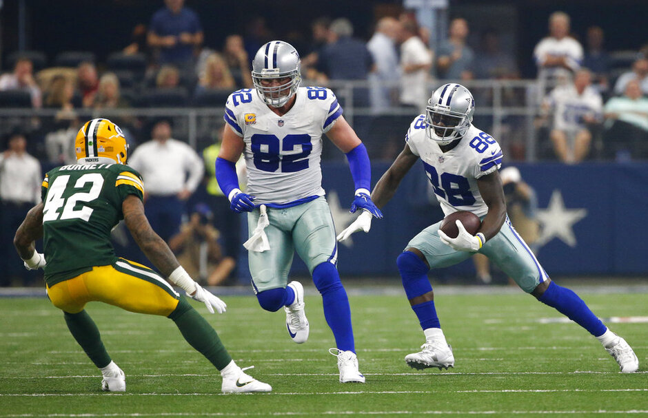 Morgan Burnett, Jason Witten, Dez Bryant,