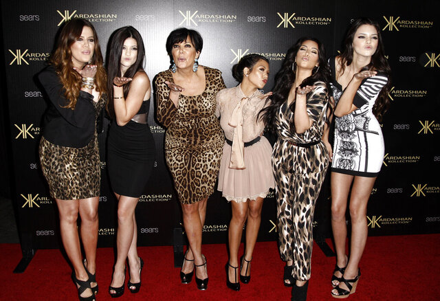 "FILE - In this Aug. 17, 2011 file photo, from left, Khloe Kardashian, Kylie Jenner, Kris Jenner, Kourtney Kardashian, Kim Kardashian, and Kendall Jenner arrive at the Kardashian Kollection launch party in Los Angeles. After more than a decade, ""Keeping Up With the Kardashians"" is ending its run. ""It is with heavy hearts that we say goodbye"