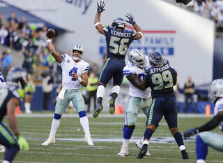 Cowboys Seahawks Football