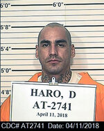 This April 11, 2018 photo provided by the California Department of Corrections and Rehabilitation shows inmate Martin Aguilar. Officials at Pelican Bay State Prison (PBSP) are investigating the death of inmate Aguilar as a homicide after he was found dead in his cell on Thursday, Jan. 21, 2021. (California Department of Corrections and Rehabilitation via AP)