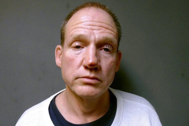 This undated booking photo released Wednesday, Feb. 12, 2020, by the Vermont Department of Corrections shows convicted murderer William Wheelock, who was caught Wednesday in Rutland, Vt., after he fled from furlough following his prison release the previous week. Wheelock was convicted in 1987 of second-degree murder and sentenced to prison. (Vermont Department of Corrections via AP)