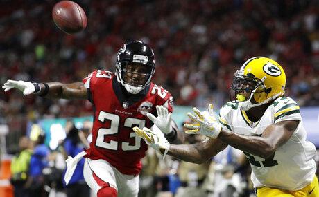 APTOPIX Packers Falcons Football