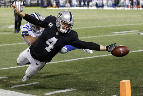 Derek Carr, Jeff Heath