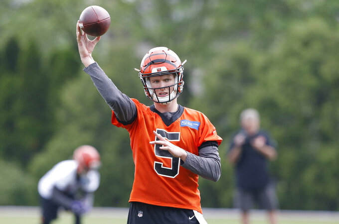 QB Ryan Finley gets first crack at running Bengals' offense