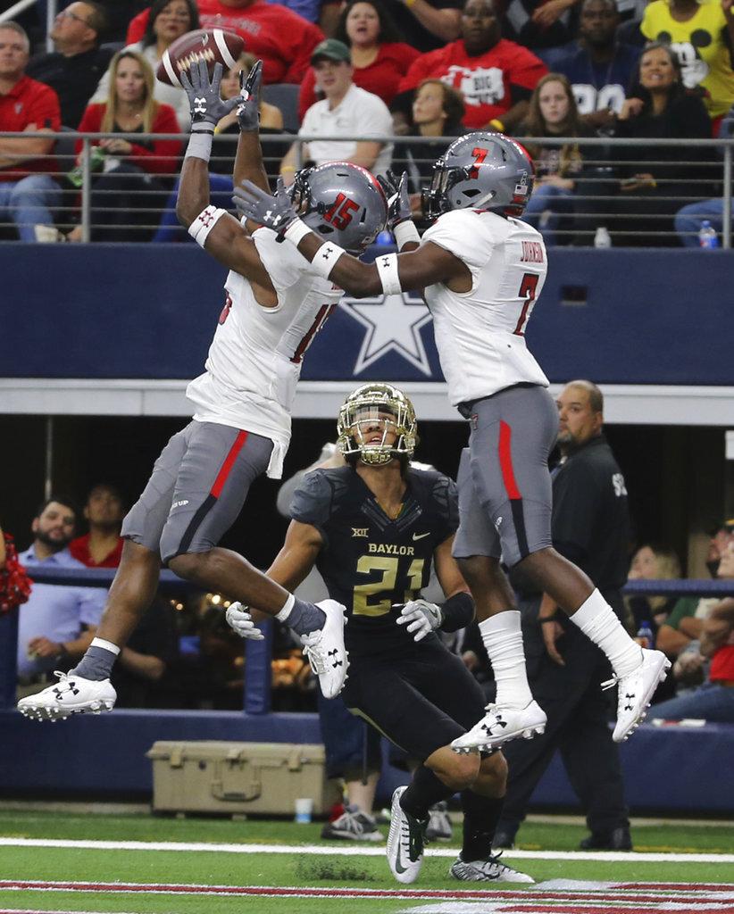 Texas Tech Baylor Football