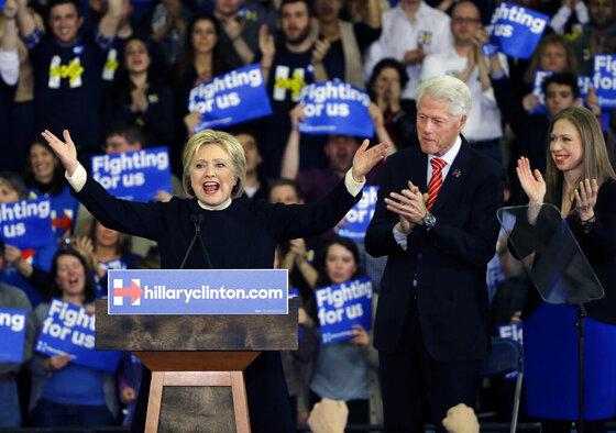 Hillary Clinton, Bill Clinton, Chelsea Clinton