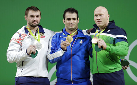 Rio Olympics Weightlifting Men