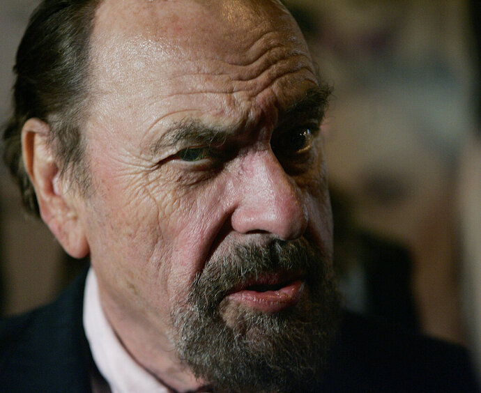 FILE - In this Friday, Oct. 13, 2006, file photo, actor Rip Torn attends the New York premiere of