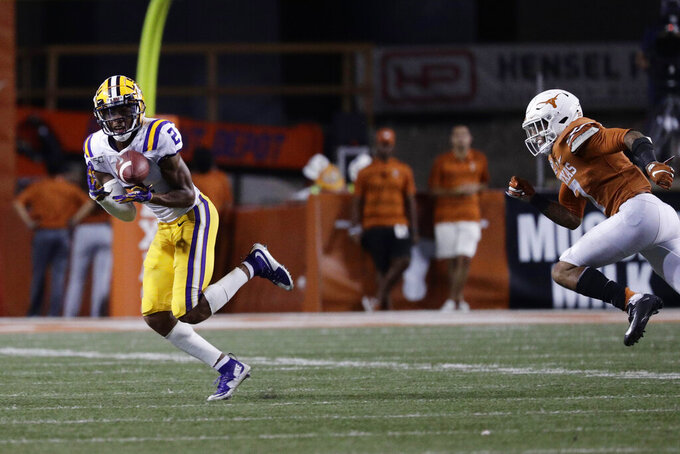 Texas pass defense needs work after LSU loss