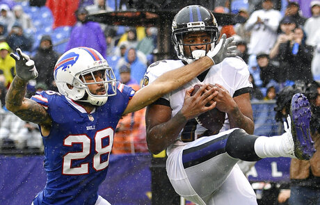 APTOPIX Bills Ravens Football