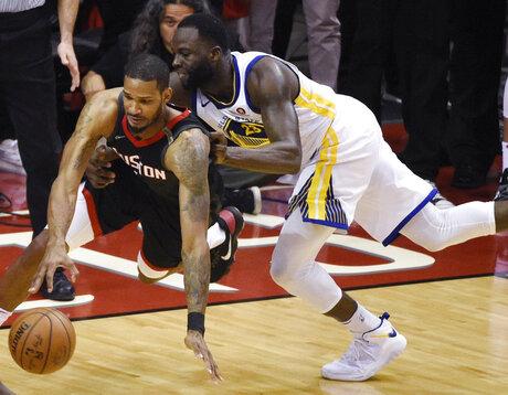 Warriors Rockets Basketball