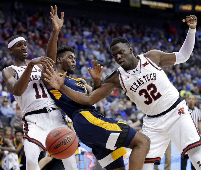 West Virginia beats No. 7 Texas Tech 79-74 in Big 12 Tourney