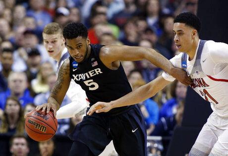 NCAA Xavier Arizona Basketball