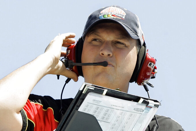 Letarte to play crew chief again in 1-race stint for Spire
