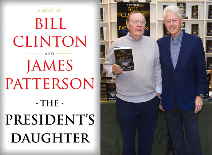 "An image released by Knopf shows cover art for ""The President's Daughter,"