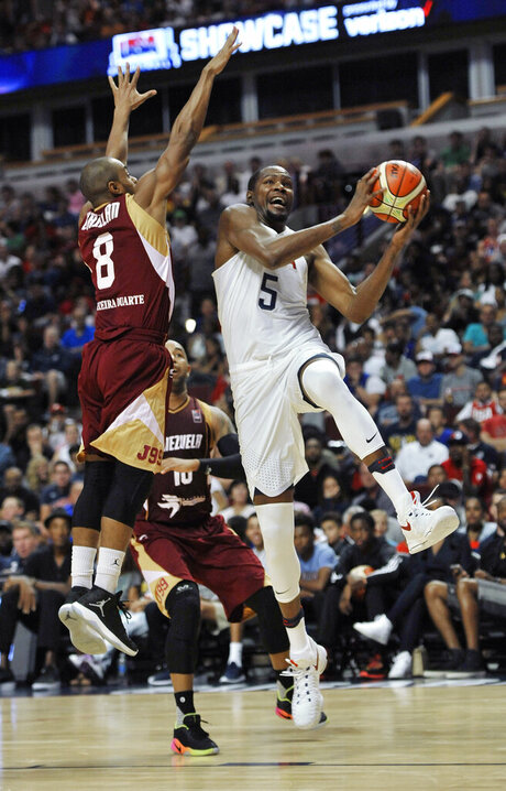 Venezuela US Basketball