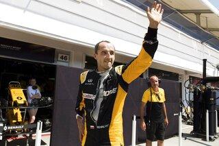 Hungary F1 Renault Kubica