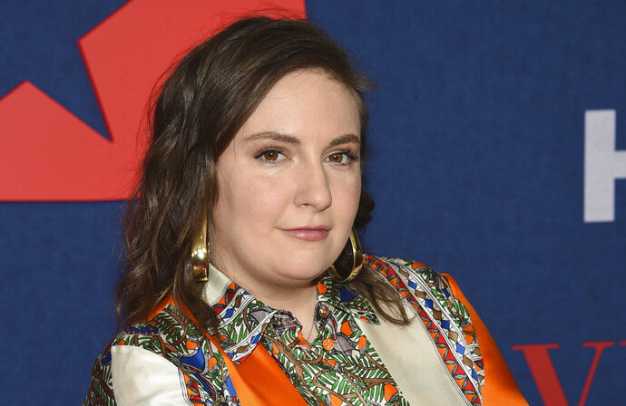FILE - Lena Dunham attends the premiere of the final season of HBO's