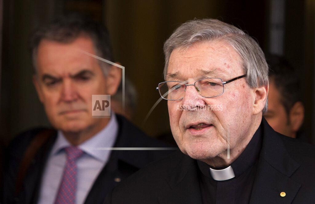 Austalia Vatican Sex Abuse