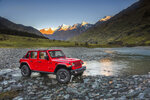 This photo provided by Stellantis North America shows the 2021 Jeep Wrangler Rubicon Unlimited. Available in two-door or four-door configurations and with a number of capable trim levels, the Jeep Wrangler is one of the most off-road focused vehicles you can buy today. (Courtesy of Stellantis North America via AP)