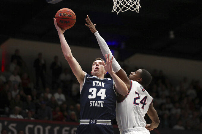 Utah State Aggies at Saint Mary's Gaels 11/29/2019