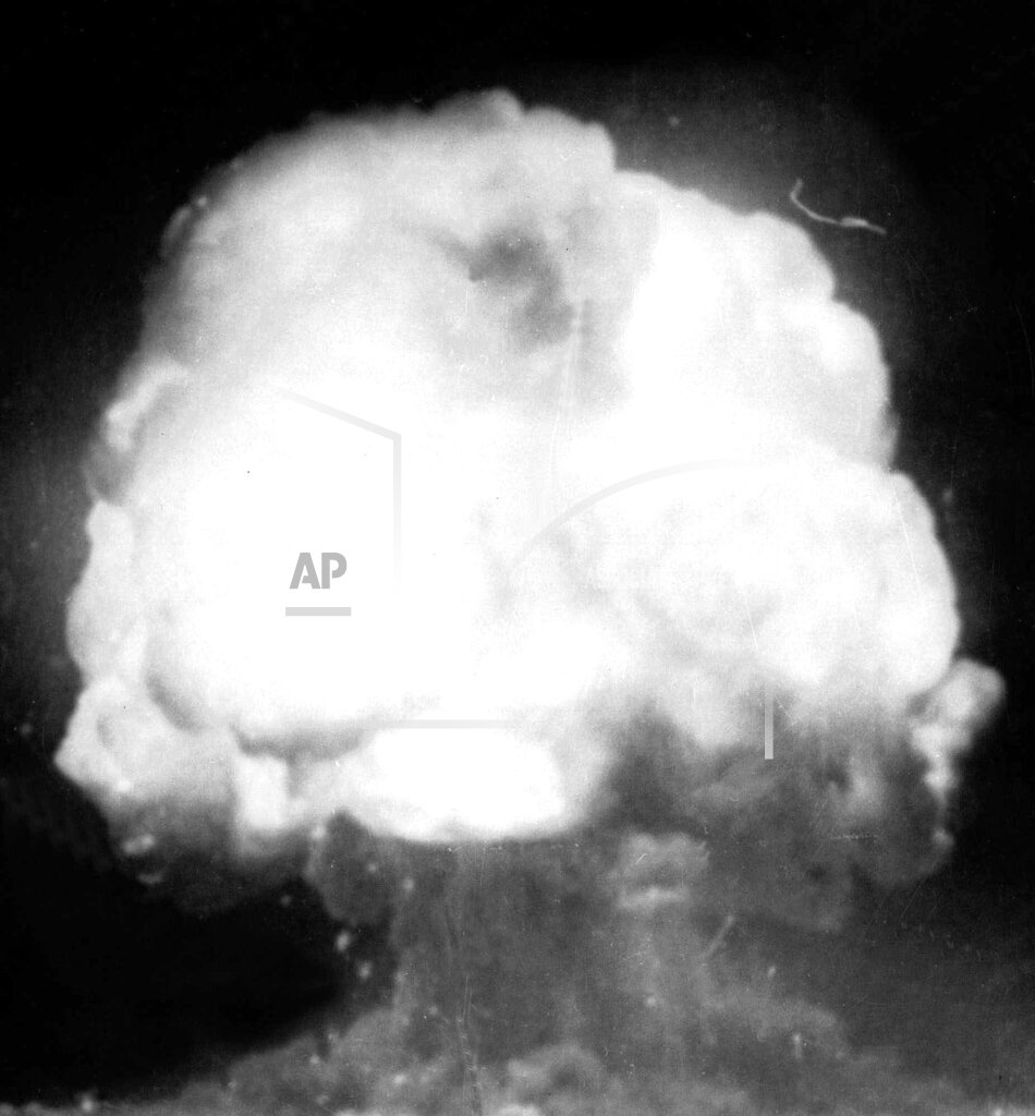Associated Press Domestic News New Mexico United States MIL NUKE TESTS